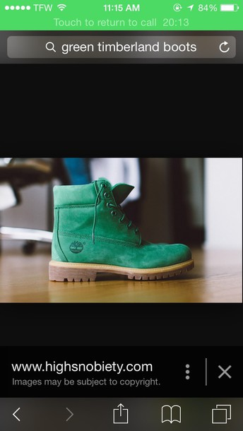 shoes green timberands