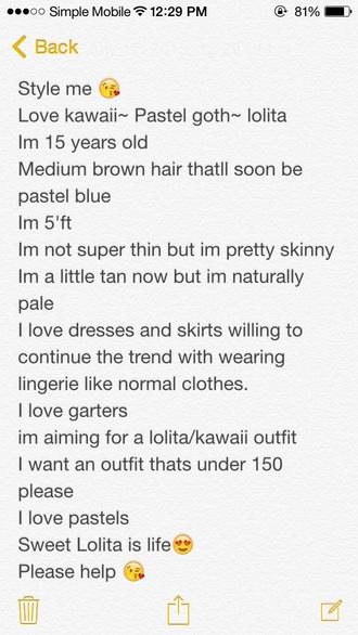 dress kawaii lolita lingerie pastel goth garter style me sexy bra skirt cute jewels phone cover shoes