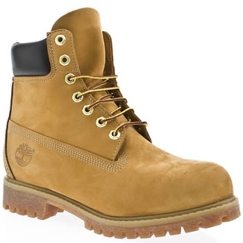 74628c338502 Mens Natural Timberland 6 Inch Premium Tan Leather Boots