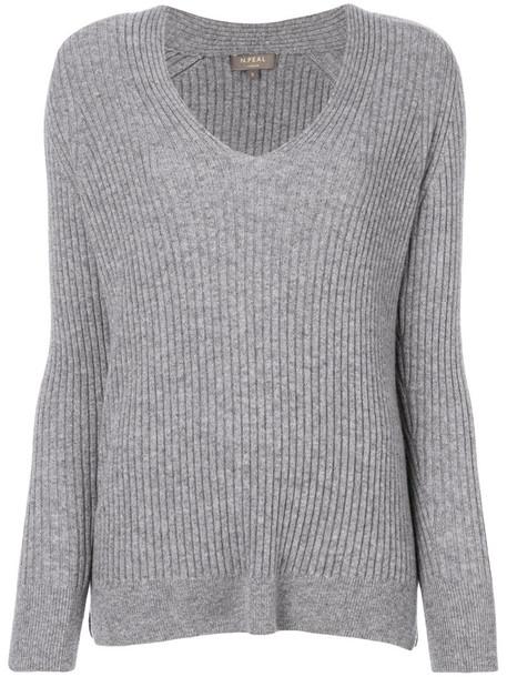 N.Peal sweater women grey