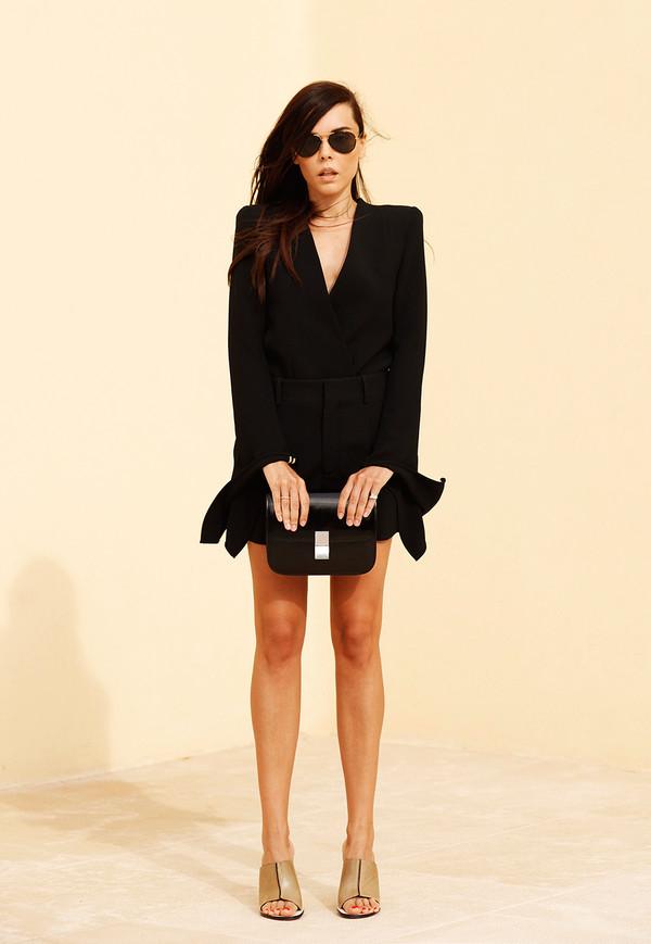 style heroine shorts shirt jacket top