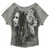 Bob Marley - Profiles Dolman Raglan  Women's T Shirt on Sale for $26.95 at HippieShop.com