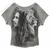 Bob Marley - Profiles Dolman Raglan  Women's T Shirt on Sale for $26.95 at HippieShop.com