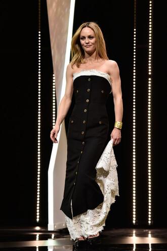 dress strapless strapless dress vanessa paradis gown lace