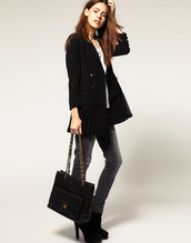 jacket,blazer,black