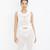 SWEAT HER Crochet Sweater Dress in Off White at FLYJANE