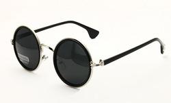Online shop round retro sunglasses for men / women metal hinge frame polarised lens discount unisex uv400 glasses warehouse sale