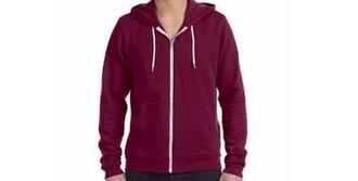 jacket maroon/burgundy zip up jacket