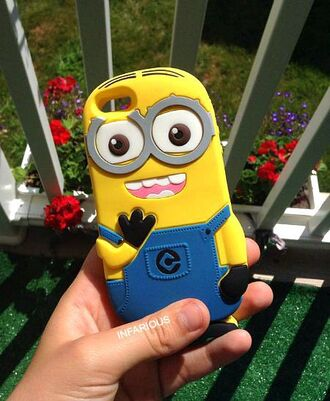 phone cover minions iphone cover iphone case iphone cartoon iphone 5 case