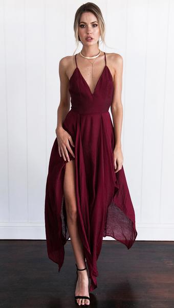 4e2499ffb3bb Prima Donna Dress (Wine)
