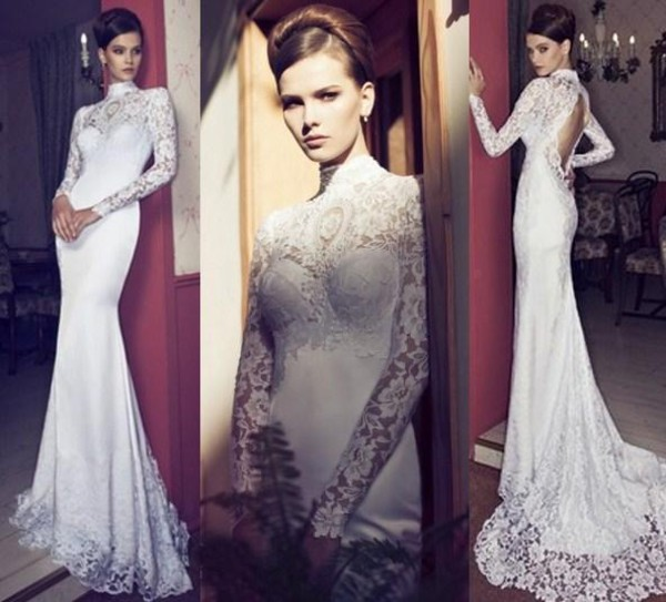 wedding dress bridal dress 2014 bridal gowns 2014 wedding dress 2015 wedding dress wedding dress high neck wedding dress high neck wedding gown long sleeve wedding dress backless wedding dress wedding dress