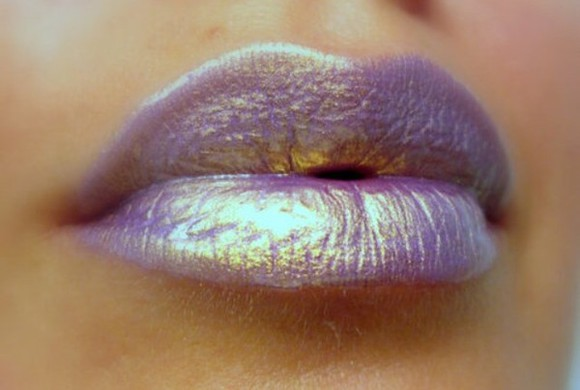 nail polish lips lipstick purple make-up sheer