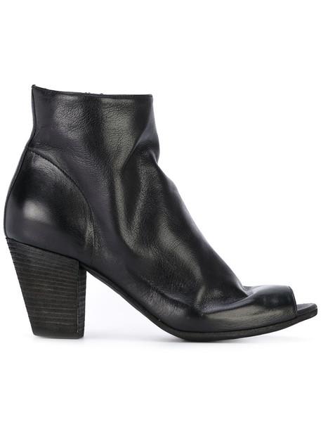 OFFICINE CREATIVE women leather black shoes
