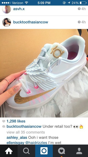 shoes kds wings