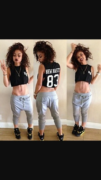 shirt india westbrooks crop tops fashion black crop top dope shirt tank top top pants shoes jewels