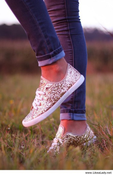 gold sequins gold shoes sparkly converse