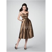 dress,natural makeup look,a line prom gowns,charming design,straps