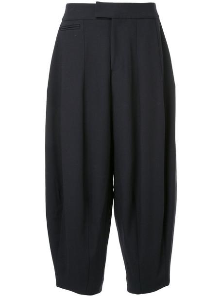 Studio Nicholson women blue wool pants