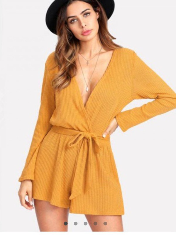 romper girly girl girly wishlist one piece jumpsuit mustard cute