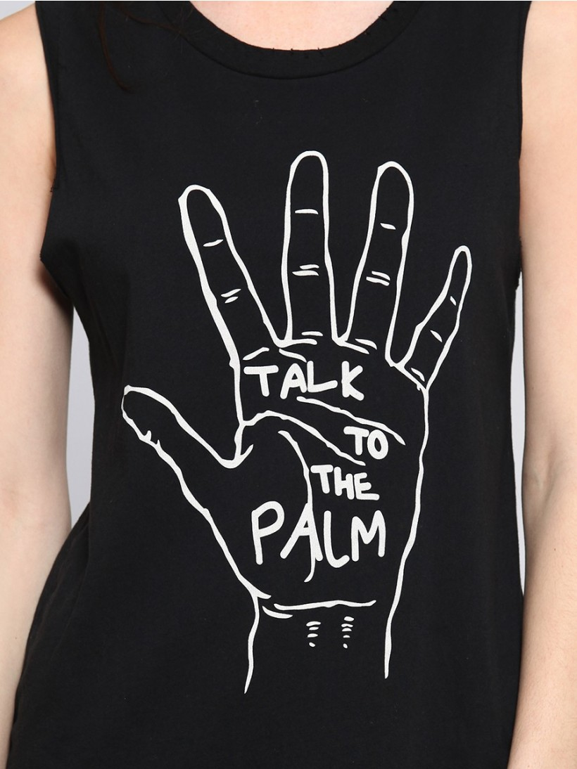 Talk to the Palm Muscle Tank