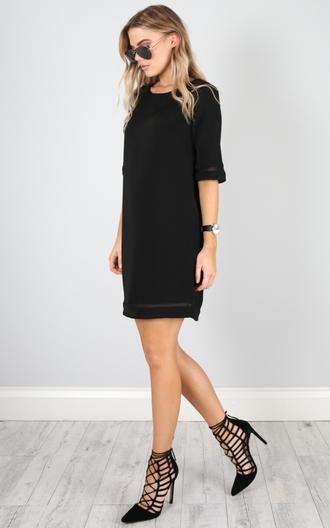 dress showpo little black dress