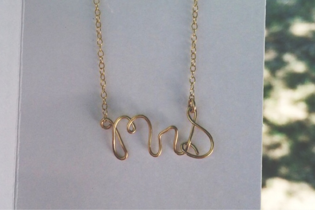All The Wire   Hand Stamped Jewelry
