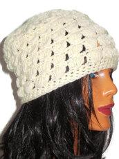 hat,beige,ivory,lace beanie,etsy,crochet,women hat,girls hats,knit,gift ideas,gifts hat,beanie,beige beanie,women accessories,women fashion,wonens fashion,wanelo,tumblr,twitter,pinterest,women hats,handmade