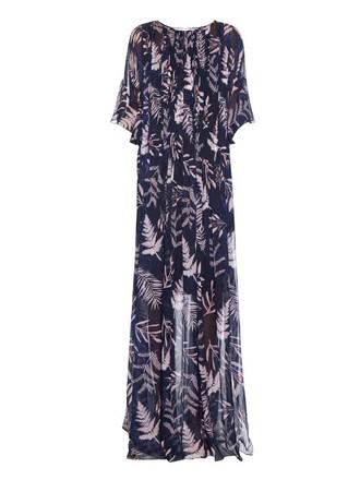 dress maxi dress maxi navy print