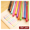 12 pcs/lot rainbow gel pen dot & dots cute pen stationery caneta papelaria gift office material escolar school supplies-in gel pens from office & school supplies on aliexpress.com   alibaba group
