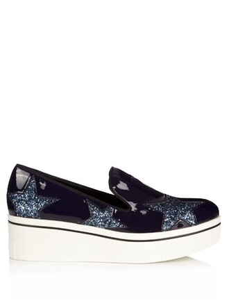 loafers blue shoes