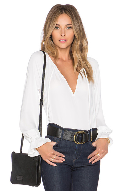 L'Academie blouse boho white