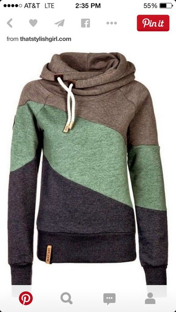 sweater sweatshirt naketano tri colored