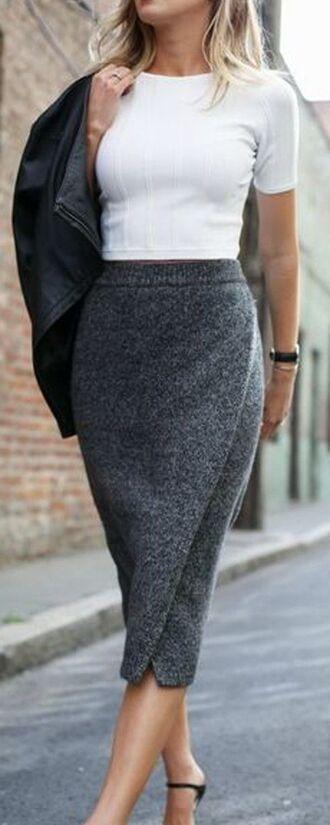 skirt grey skirt midi dress