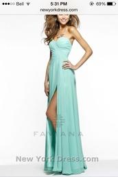 dress,blue,blue dress,prom dress,tiffany blue