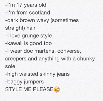bag style fashion black grunge sweater jeans clothes accessories