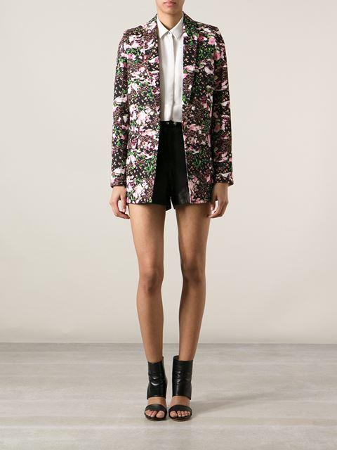 Givenchy floral print blazer