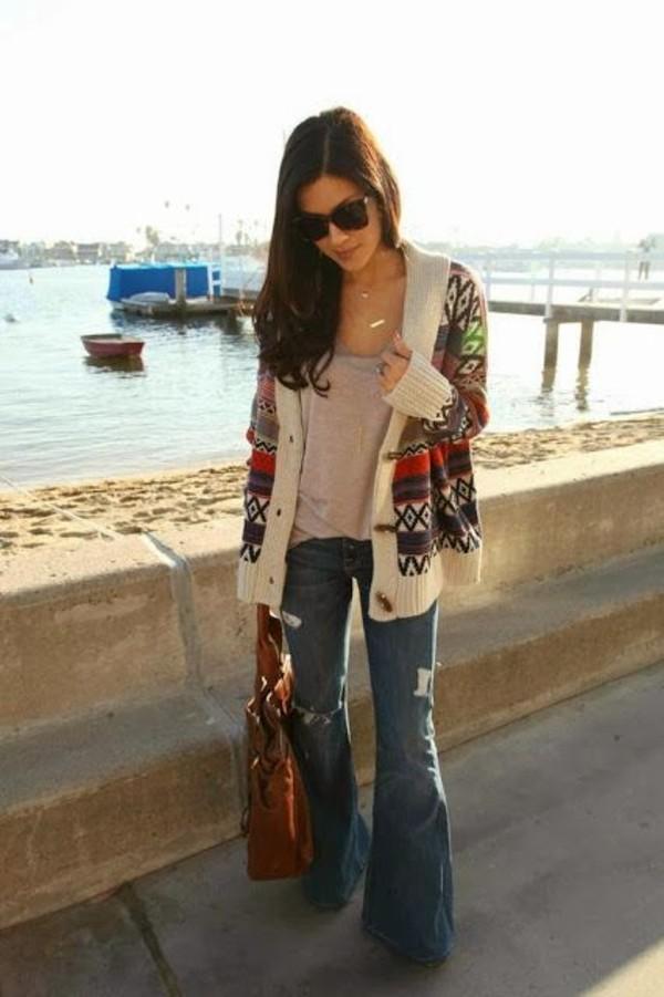 sweater tribal pattern