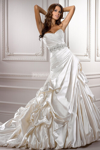 ball gown wedding dress fashion dress gown whire