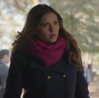coat the vampire diaries elena gilbert wool pea coat scarf