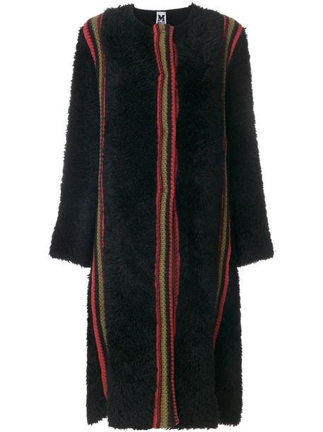 coat women mohair black wool