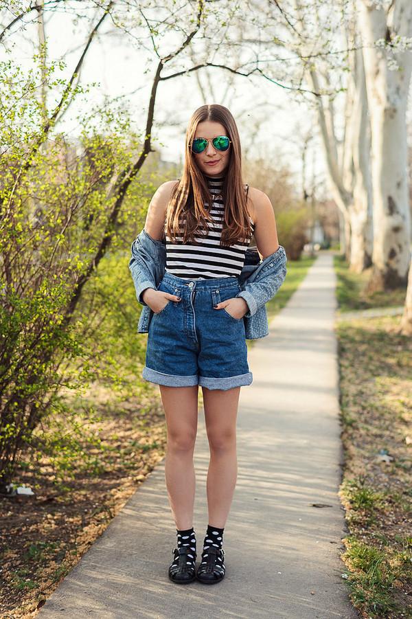 iemmafashion t-shirt shorts shirt shoes jewels sunglasses