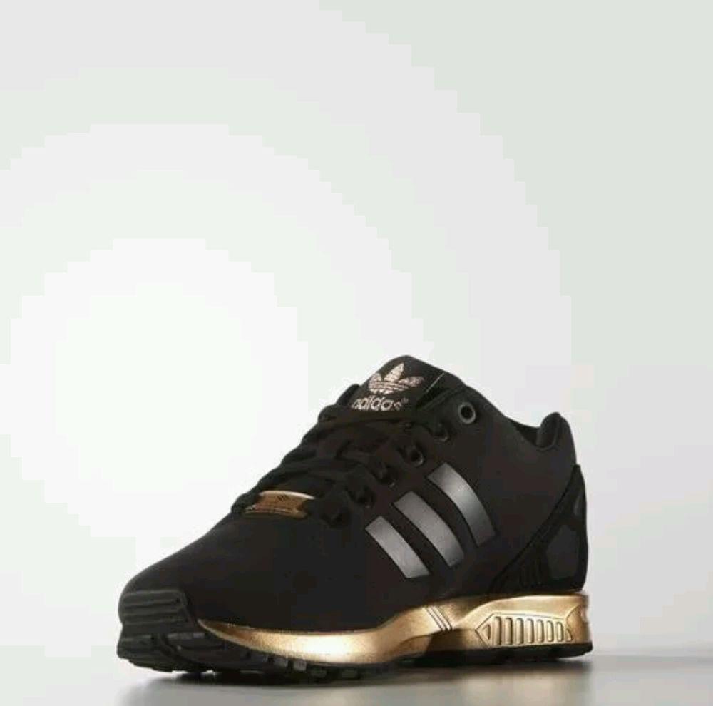 deb39976e172 adidas ZX flux womens 10.5 copper black torsion rose gold NEW sold ...