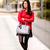 DIY Jersey tartán con tachuelas | Crímenes de la Moda en stylelovely.com