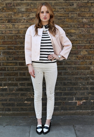 at fashion forte jacket top jeans jewels shoes