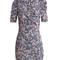 Brizia floral-print puff-sleeved dress