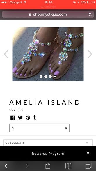 shoes sandals sparkle embellished sandals flat sandals