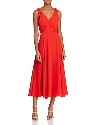 Betsey Johnson Pebble Georgette Crepe Dress | Bloomingdale's