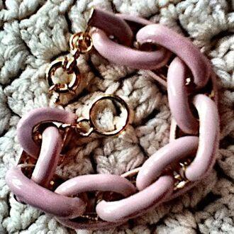 jewels nude neutral link bracelets