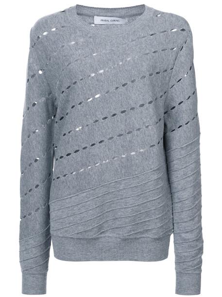 Prabal Gurung sweater women wool grey