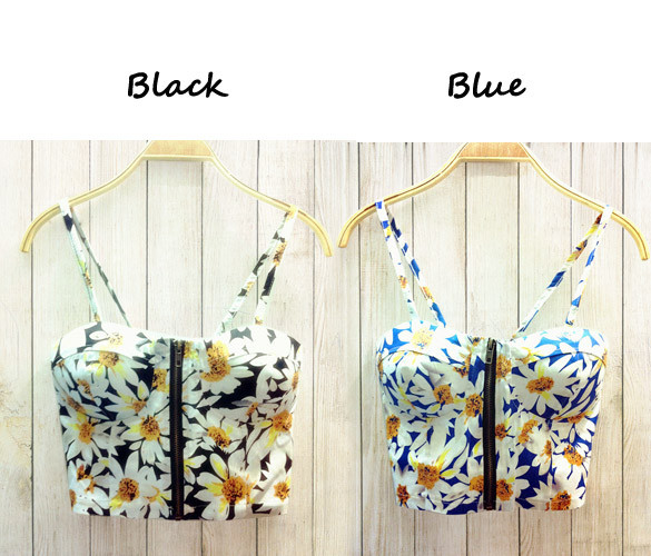 Black Daisy Bralet – Outfit Made